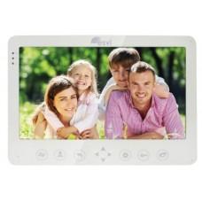 """EVJ-10 Цветной 4-x проводной 10"""" LCD TFT видеодомофон на две вызывные панели, слот microSD"""