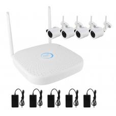 PX-KIT-PG420-10W комплект 4 Wi-Fi IP камеры 1.0Mp + Wi-Fi NVR